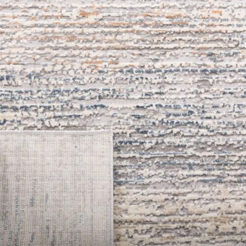 Martha Stewart Cosmopolitan Area Rug - Cream/Light Gray Perspective: back