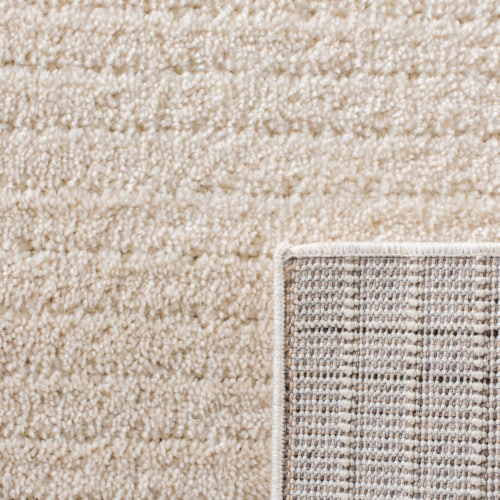 Martha Stewart Collection Lucia Shag Area Rug - Ivory Perspective: back