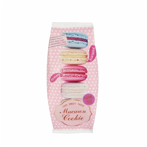 Wrapables Trendy Food Pencil Case and Stationery Pouches (Set of 3), Pink Perspective: back