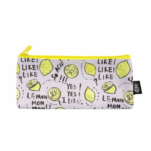 Wrapables Trendy Food Pencil Case and Stationery Pouches (Set of 3), Green Perspective: back
