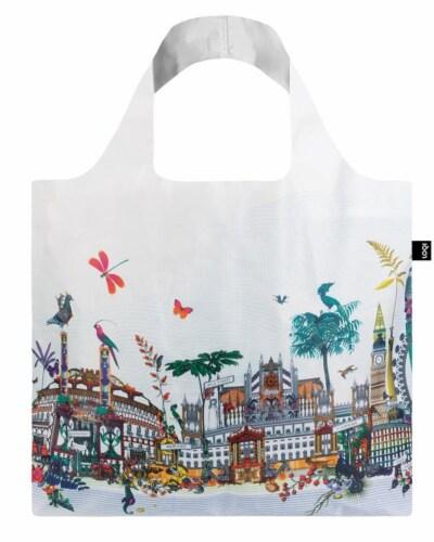 LOQI Artist Kristjana S Williams Interiors London Reusable Shopping Bag Perspective: back