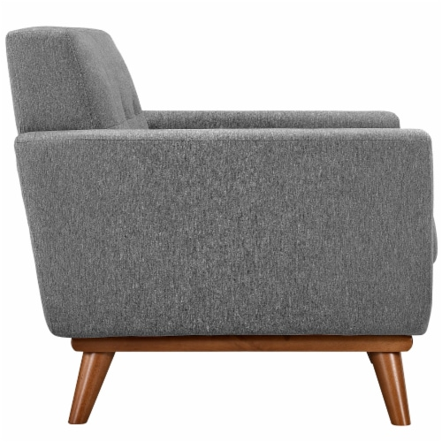 Engage Armchair Wood Set of 2 - Expectation Gray Perspective: back
