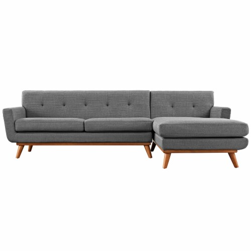 Engage Right-Facing Sectional Sofa Perspective: back