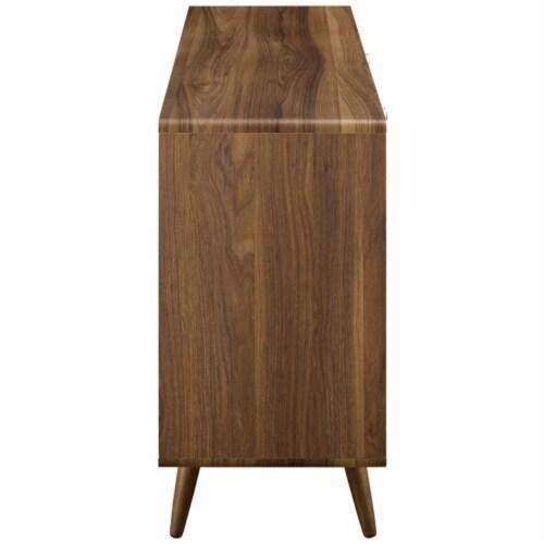 Transmit Sideboard, Walnut White Perspective: back