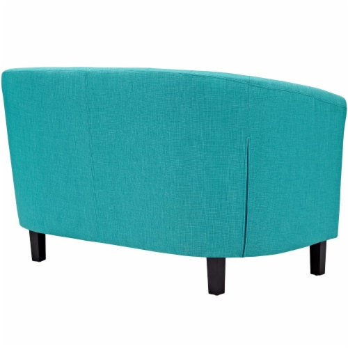 Prospect Upholstered Fabric Loveseat Perspective: back