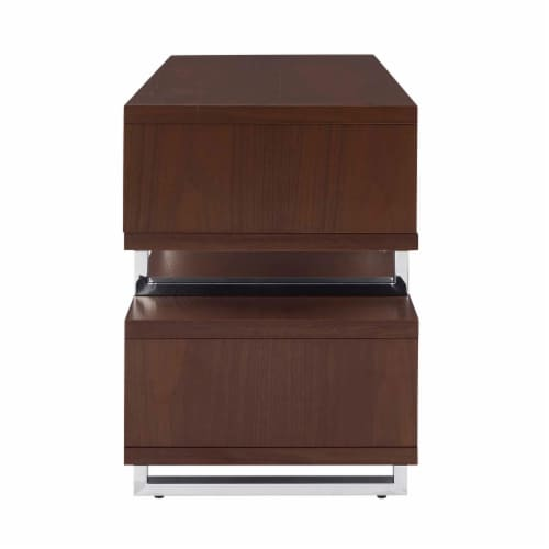 Amble 47 TV Stand - Walnut Perspective: back