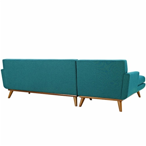 Engage Left-Facing Sectional Sofa Perspective: back