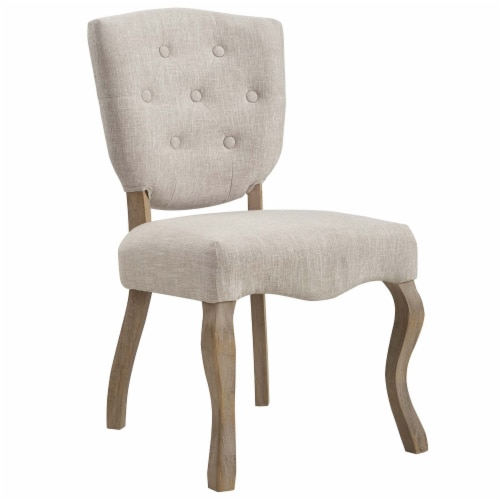 Array Dining Side Chair Set of 2 - Beige Perspective: back