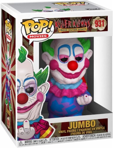Killer Klowns from Outer Space Funko POP Vinyl Figure | Jumbo Perspective: back