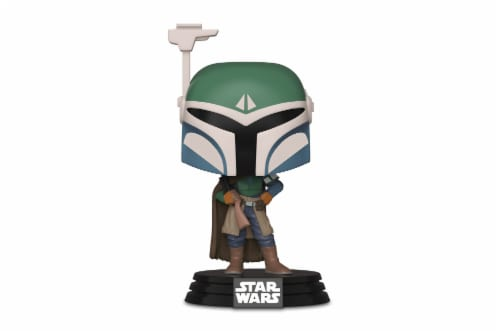 Star Wars Mandalorian Covert Mandalorian Funko Pop Perspective: back
