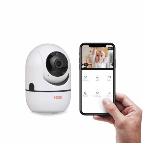 MobiCam HDX Pan & Tilt Smart HD Wi-Fi Video Baby Monitoring System Perspective: back