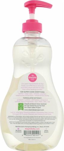 Dapple® Baby Lavender Bottle & Dish Soap Perspective: back