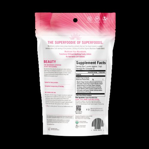 OM  Organic Mushroom Nutrition Supplement Powder - Beauty Perspective: back