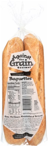 Against The Grain Gourmet Original Frozen Gluten Free Baguettes Perspective: back