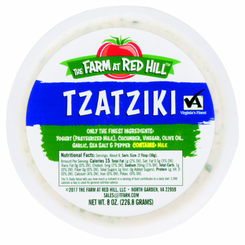 The Farm at The Red Hill Tzatziki Perspective: back