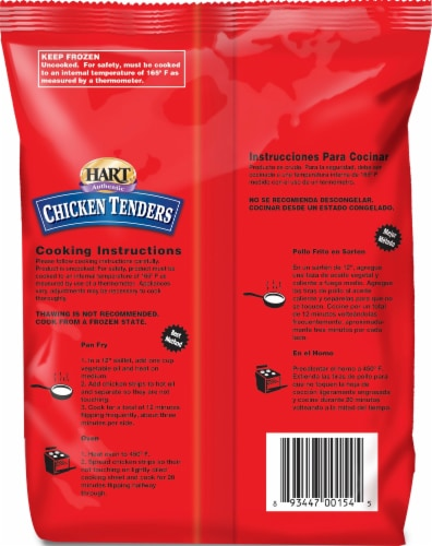 Hart Authentic Chicken Tenders Perspective: back