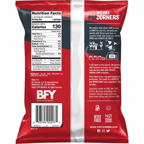 PopCorners® Kettle Corn Popped Corn Snack Perspective: back