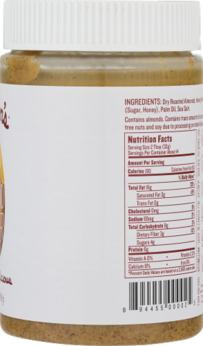 Justin's® Honey Almond Butter Perspective: back