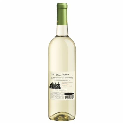 Three Thieves Pinot Grigio Perspective: back