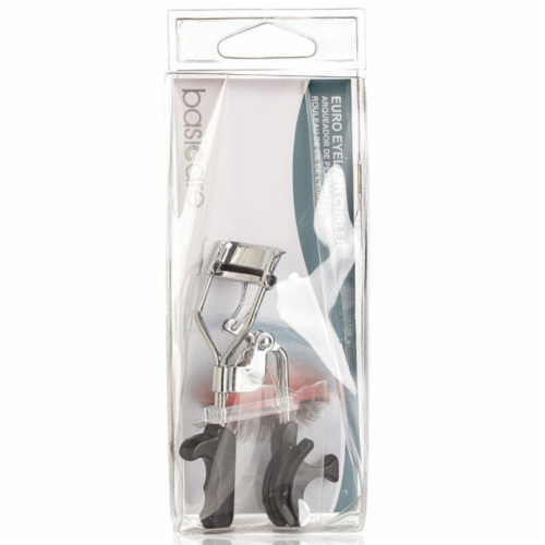 Basicare Euro Grip Eyelash Curler | with 2 Spare Rubbers Perspective: back