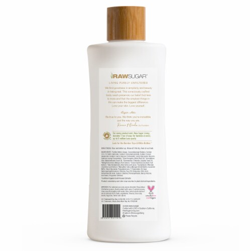 Raw Sugar Living Coconut + Mango Simply Body Wash Perspective: back