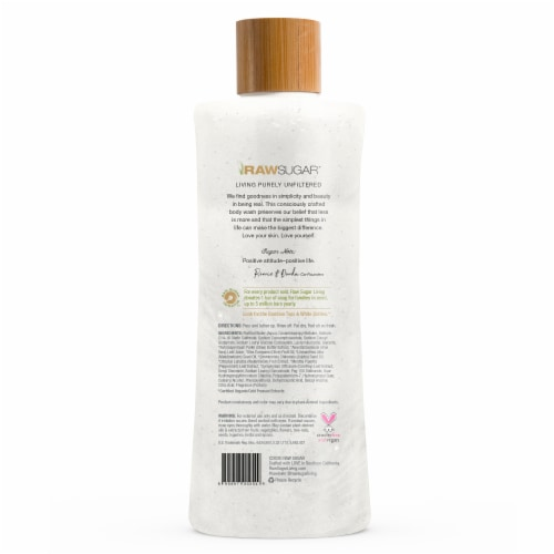 Raw Sugar Living Watermelon + Fresh Mint Moisture Loving Body Wash Perspective: back