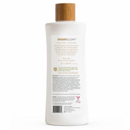 Raw Sugar Living Green Tea + Cucumber + Aloe Vera Sensitive Skin Simply Body Wash Perspective: back