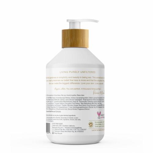 Raw Sugar Living Green Tea + Cucumber + Aloe Vera Sensitive Skin Simply Hand Wash Perspective: back
