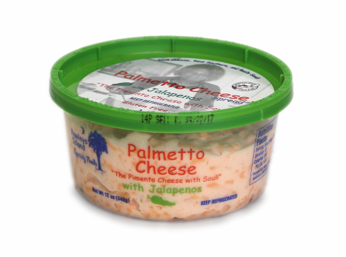 Palmetto Cheese with Jalapenos Perspective: back