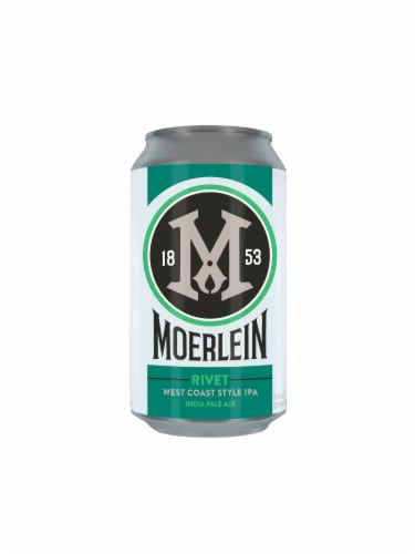 Christian Moerlein Rivet West Coast Style IPA Beer Perspective: back