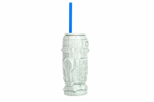 Geeki Tikis Star Wars R2-D2 Plastic Tumbler   Holds 21 Ounces Perspective: back