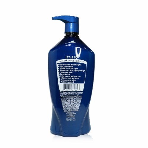 """""""""""It's A 10 Potion 10 Miracle Repair Shampoo 1000ml/33.8oz"""""""" Perspective: back"""