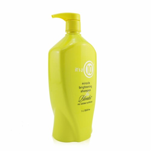 """""""""""It's A 10 Miracle Brightening Shampoo (For Blondes) 1000ml/33.8oz"""""""" Perspective: back"""