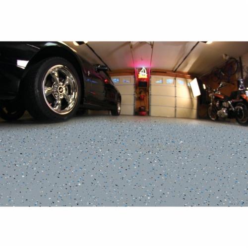 Rust-Oleum RockSolid VOC Free Garage Floor Coating Kit, Gray, 76 Oz. 60003 Perspective: back