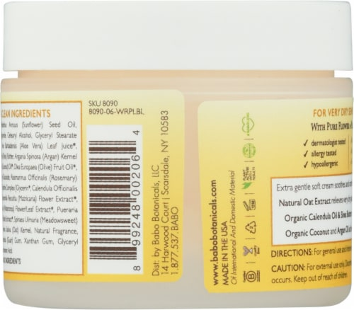 Babo Botanicals® Miracle Moisturizing Cream Perspective: back