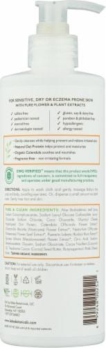 Babo Botanicals® Sensitive Fragrance Free Baby Shampoo & Wash Perspective: back