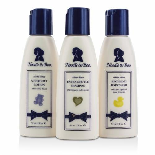 Noodle & Boo Essential Care Kit: Body Wash 59ml/2oz + Shampoo 59ml/2oz + Lotion 59ml/2oz 3pcs Perspective: back