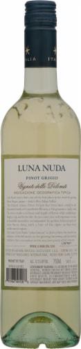 Luna Nuda 2017 Pinot Grigio Perspective: back