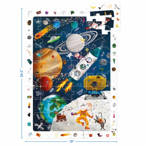 Observation Puzzle Space Perspective: back