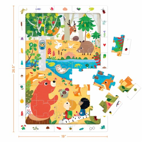 Observation Puzzle Forest Perspective: back
