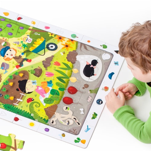 Observation Puzzle Garden age 3+ Perspective: back