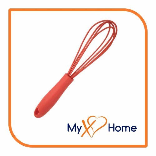 My XO Home Silicone Kitchen Cooking Tools (Red Whisk) Perspective: back