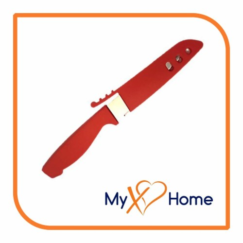 My XO Home Silicone Kitchen Cooking Tools (Red Knife) Perspective: back