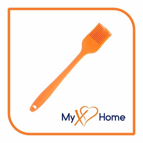 My XO Home Silicone Kitchen Cooking Tools (Orange Basting Brush) Perspective: back