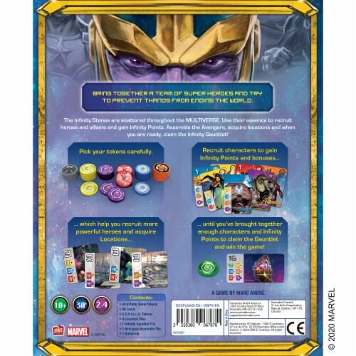 Marvel Splendor Board Game Perspective: back
