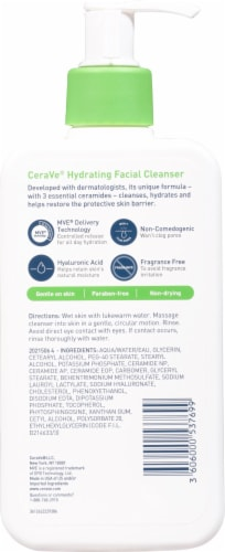 CeraVe Hydrating Facial Cleanser Perspective: back