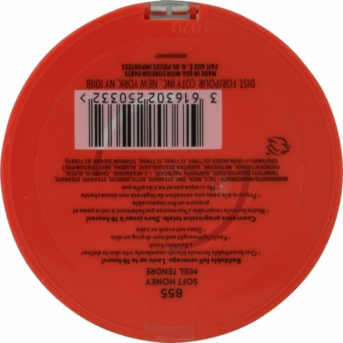 CoverGirl Outlast 855 Soft Honey Extreme Wear Pressed Powder Perspective: back