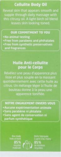 Weleda Birch Cellulite Body Oil Perspective: back