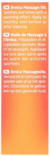 Weleda  Arnica Massage Oil Trial Size Perspective: back