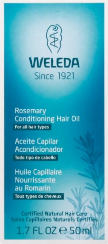 Weleda Rosemary Conditioning Hair Oil Perspective: back